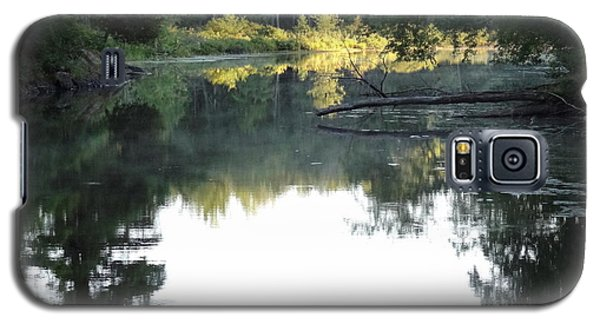 Deer River In Early Sun Galaxy S5 Case