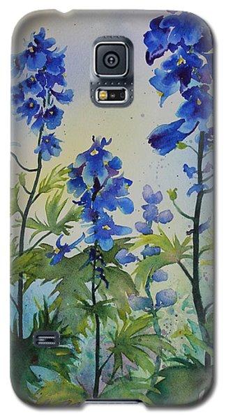 Delphiniums Galaxy S5 Case