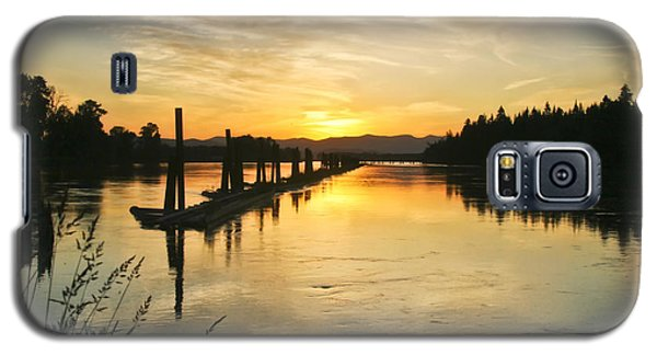 Galaxy S5 Case featuring the photograph Delta Sunset by Albert Seger