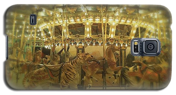 Dentzel Carousel At Glen Echo Park Maryland Galaxy S5 Case