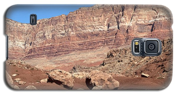 Galaxy S5 Case featuring the photograph Desert Colors by Bob and Nancy Kendrick