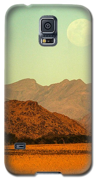 Desert Moonrise Galaxy S5 Case