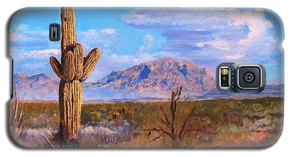 Desert Scene 4 Galaxy S5 Case