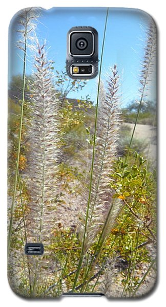 Galaxy S5 Case featuring the photograph Desert Trail by Kume Bryant