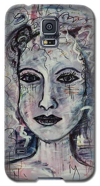 Galaxy S5 Case featuring the painting Destiny by Sladjana Lazarevic
