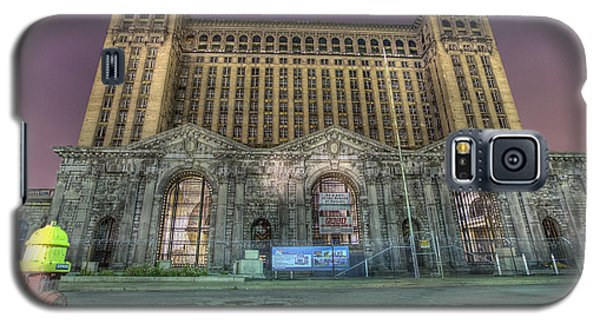 Detroit's Michigan Central Station - Michigan Central Depot Galaxy S5 Case