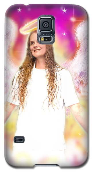 Diamond.angelic 4 Galaxy S5 Case by Nada Meeks