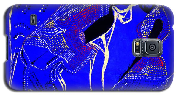 Galaxy S5 Case featuring the painting Dinka Marriage by Gloria Ssali