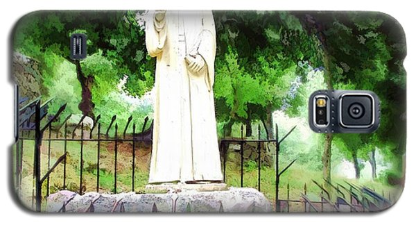 Do-00541 St Charbel Statue Galaxy S5 Case