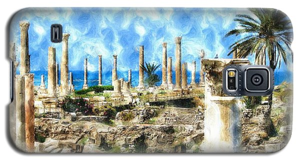 Do-00550 Ruins And Columns Galaxy S5 Case