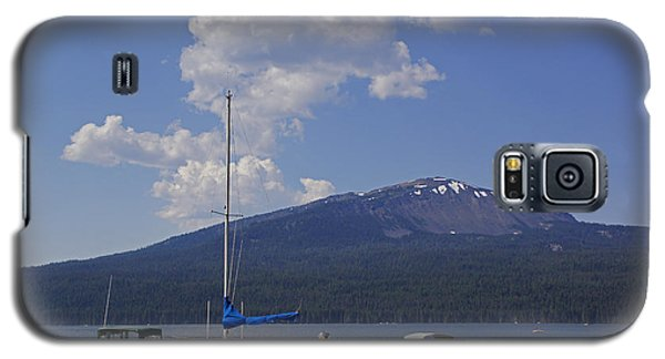 Galaxy S5 Case featuring the photograph Docks At Diamond Lake by Mick Anderson