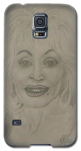 Dolly Parton Galaxy S5 Case by Manuela Constantin