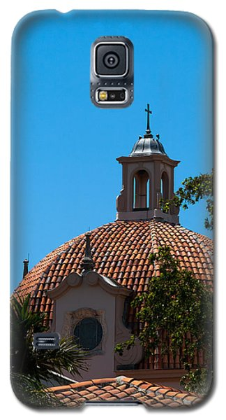 Galaxy S5 Case featuring the photograph Dome At Church Of The Little Flower by Ed Gleichman