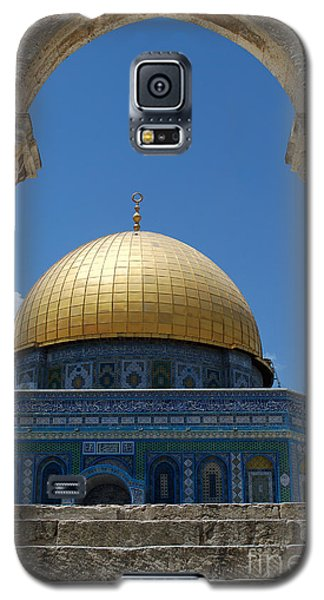 Galaxy S5 Case featuring the photograph Dome Of The Rock  by Eva Kaufman