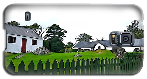 Galaxy S5 Case featuring the photograph Donegal Home by Charlie and Norma Brock