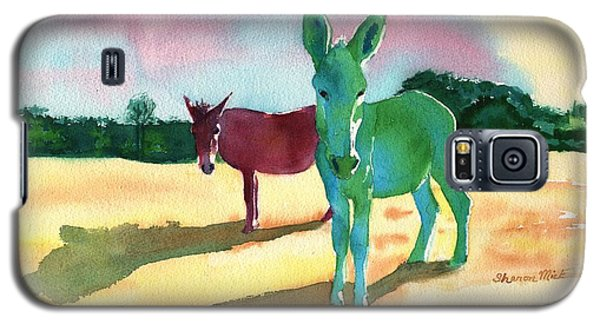 Donkeys With An Attitude Galaxy S5 Case by Sharon Mick