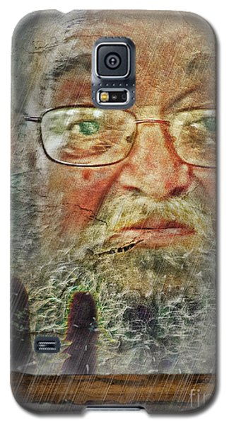 Galaxy S5 Case featuring the digital art Don't You See Me?  I'm Here. .  by Rhonda Strickland