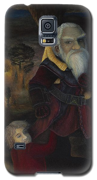 Galaxy S5 Case featuring the painting Dori  by Joshua Martin