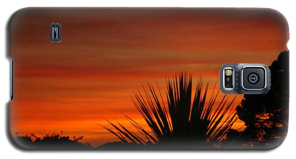 Galaxy S5 Case featuring the photograph Dorset Sunset by Katy Mei