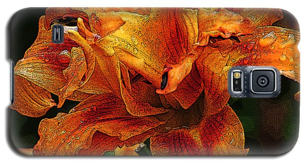 Galaxy S5 Case featuring the photograph Double Lily by Michael Friedman