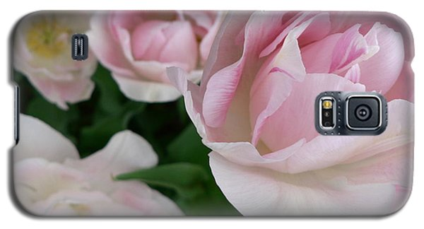 Galaxy S5 Case featuring the photograph Double Pink by Laurel Best
