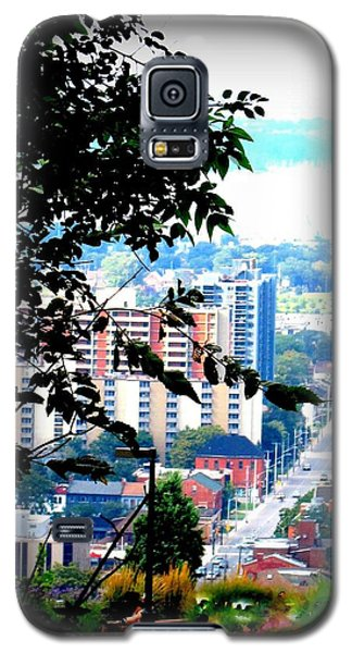 Galaxy S5 Case featuring the photograph Downtown View From Hamilton Mountain  by Danielle  Parent