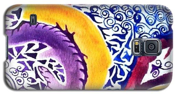 Galaxy S5 Case - Dreaming In Watercolors by Sandra Lira