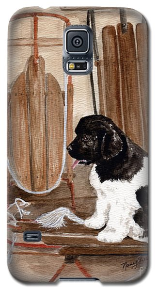 Galaxy S5 Case featuring the painting Dreaming Of Winter  by Nancy Patterson