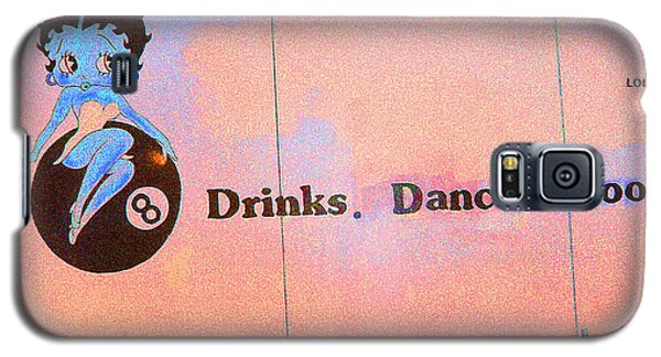 Drink Dance Pool Galaxy S5 Case by Louis Nugent