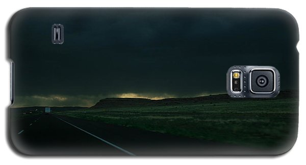 Galaxy S5 Case featuring the photograph Driving Rain Number One by Lon Casler Bixby
