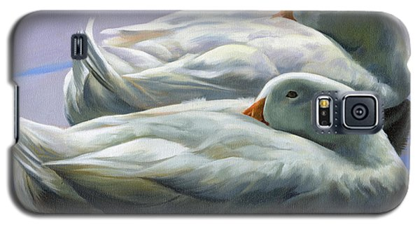 Duck Nap Galaxy S5 Case by Alecia Underhill