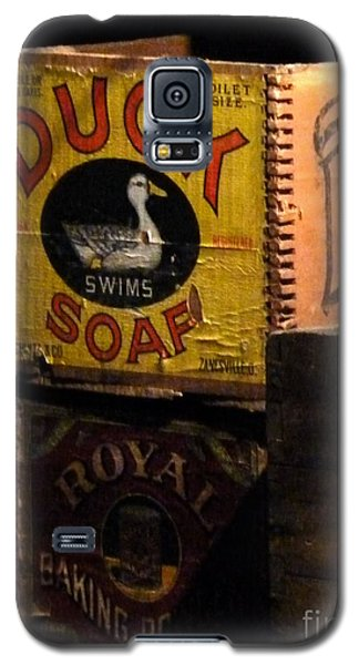 Galaxy S5 Case featuring the photograph Duck Soap by Newel Hunter