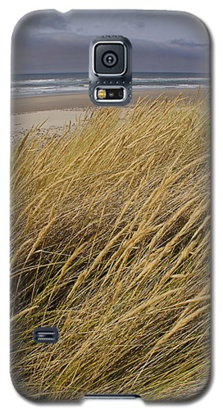 Galaxy S5 Case featuring the photograph Dune Grass On The Oregon Coast by Mick Anderson