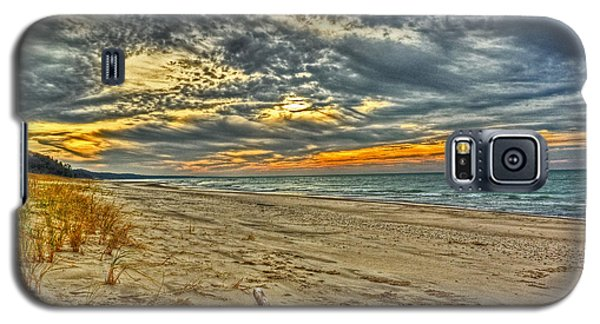 Galaxy S5 Case featuring the photograph Dunes Sunset I by William Fields