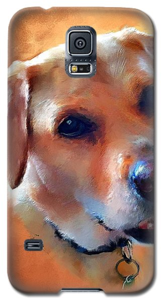 Dusty Labrador Dog Galaxy S5 Case