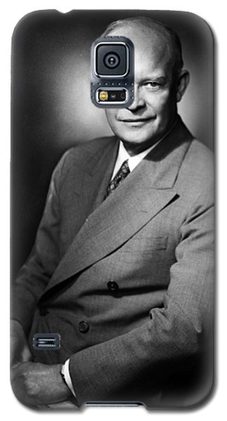 Galaxy S5 Case featuring the photograph Dwight Eisenhower - President Of The United States Of America by International  Images