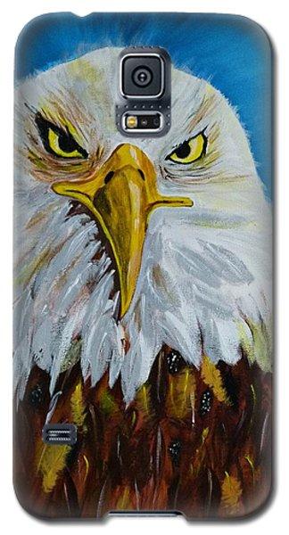 Eagle Galaxy S5 Case by Ismeta Gruenwald