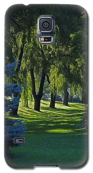 Galaxy S5 Case featuring the photograph Early Morning by John Stuart Webbstock