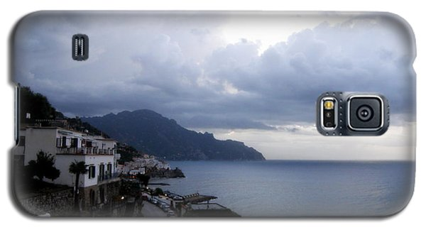 Galaxy S5 Case featuring the photograph Early Morning View Of Amalfi From Santa Caterina Hotel  by Tanya  Searcy