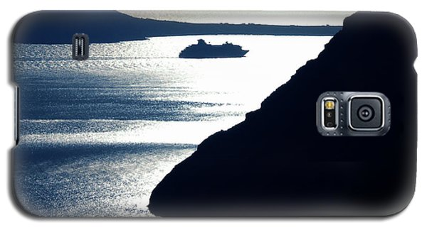 Galaxy S5 Case featuring the photograph Early Night Santorini Island Greece by Colette V Hera  Guggenheim