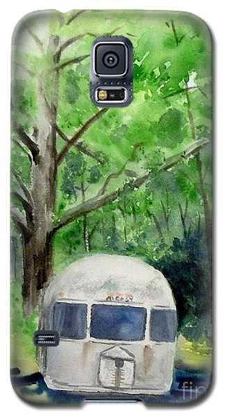 Galaxy S5 Case featuring the painting Early Summer At The Geddes Farm 1 --ann Arbor  Michigan by Yoshiko Mishina
