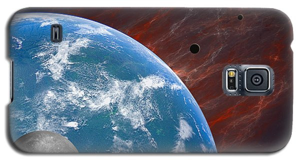 Earth Galaxy S5 Case by Gordon Engebretson