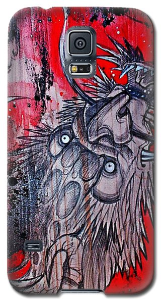 Earth Spirit Galaxy S5 Case by Sandro Ramani