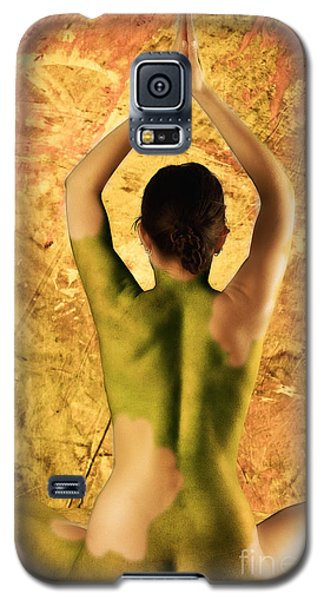 Galaxy S5 Case featuring the photograph Earthy Om by Angelique Olin