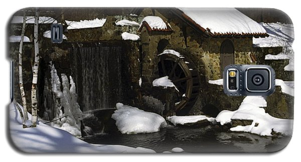 Eastern University Waterwheel Historic Place Galaxy S5 Case by Sally Weigand