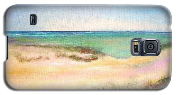 Galaxy S5 Case featuring the painting Easy Breezy by Patricia Piffath