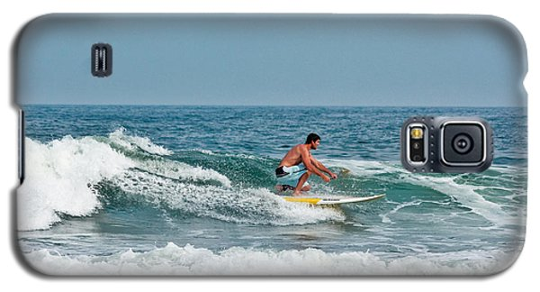 Galaxy S5 Case featuring the photograph Easy Surfing  by Ann Murphy