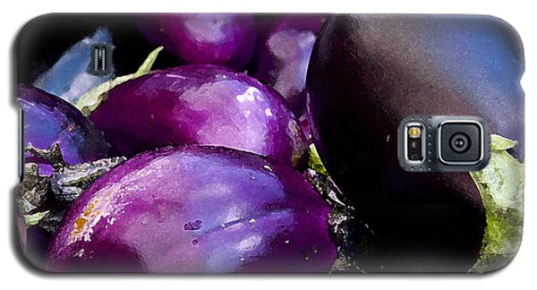 Galaxy S5 Case featuring the photograph Eggplants by Michael Friedman