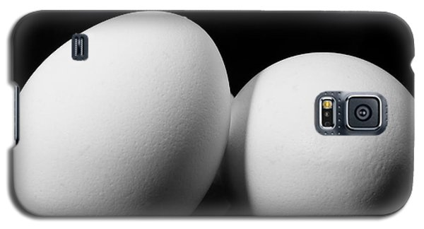 Eggs In Black And White Galaxy S5 Case