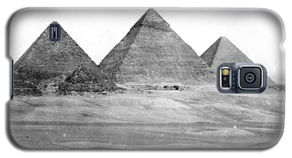 Egyptian Pyramids - C 1901 Galaxy S5 Case by International  Images